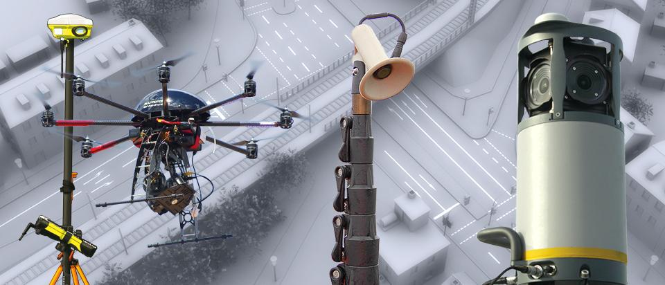 Unsere Tools - Vermessung - Straßeninspektion - Verkehrszählung - Grafik