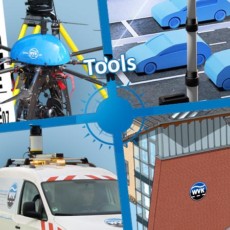 WVK-Tools: Vermessung - Straßeninspektion - Verkehrszählung - Grafik